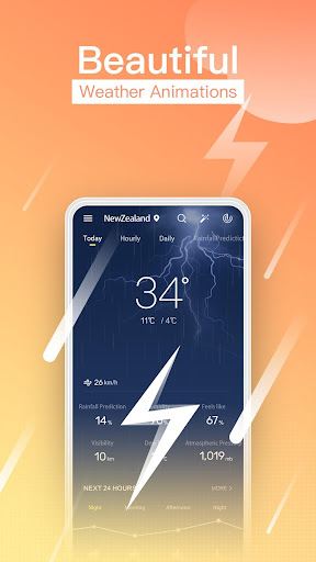 ProWeather-Daily Weather Forecasts,Realtime Report screenshot 4