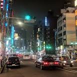 Roppongi nightlife street in Tokyo, Tokyo, Japan