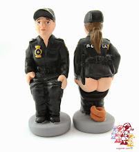 Photo: Caganer Policia Nacional Dona