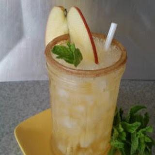 Big Apple Bourbon Cocktail.