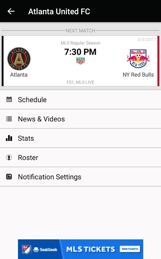 MLS Soccer- screenshot