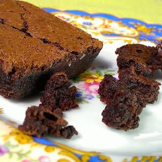 Gluten-Free Dark Chocolate Brownies.