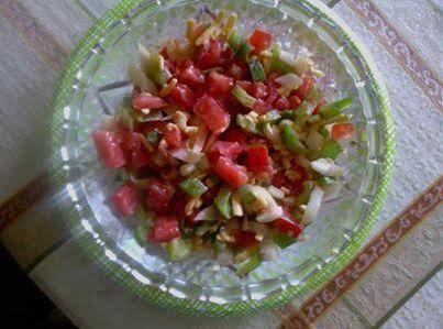Bell Pepper Salad Recipe