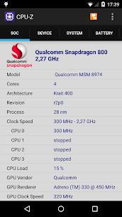 CPU-Z Premium 1.33 Mod Apk Download 1