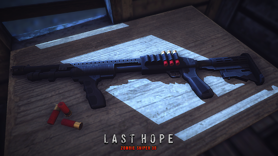Last Hope – Zombie Sniper 3D v6.0 (Mod Money) 2