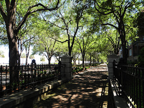 Photo: The boardwalk park in Charleston