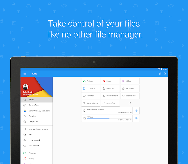 File Commander - Manager, Explorer and FREE Drive. Screenshot 7