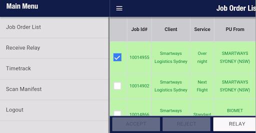 Smartways LFL Driver 01.00.36 screenshots 1