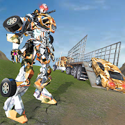 Game US Army Robot Transport Truck Driving Games APK for Windows Phone
