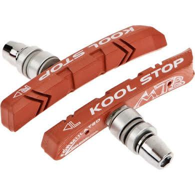 Kool-Stop Salmon Mountain Brake Shoe Threaded Post for Linear Pull