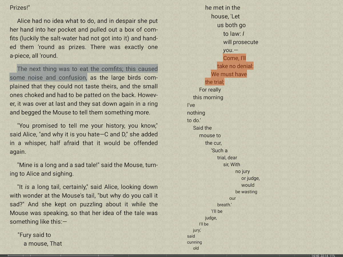 FBReader: Favorite Book Reader- screenshot