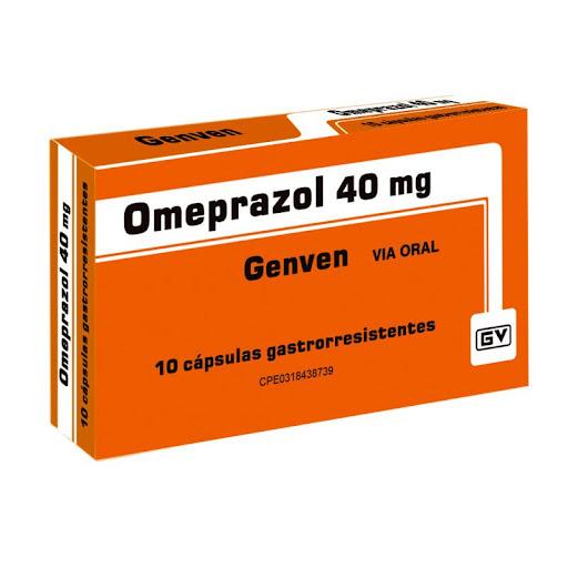 Omeprazol 40Mg 10 Capsulas Genven
