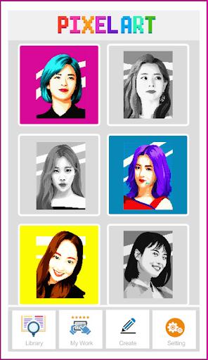 Pixel Art KPOP Color By Number 1.3 screenshots 1