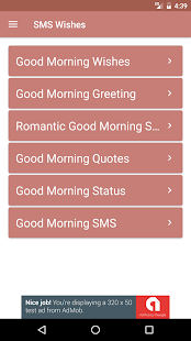 Good morning images and sms apps on google play screenshot image m4hsunfo