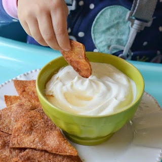 Cinnamon Sugar Tortilla Chips Recipe / Ingenuity Trio 3-in-1 SmartClean High Chair