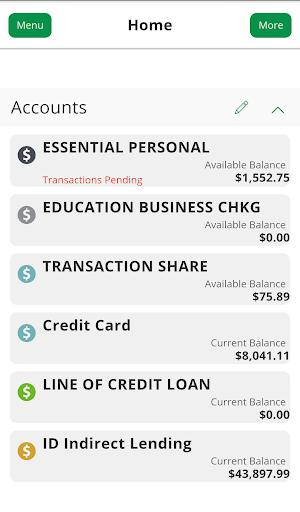 Nusenda CU– Mobile Banking