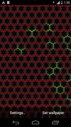 Hex Grid Livewallpaper Pro Screenshot 4