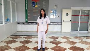 Susana Clavero, enfermera del Hospital de Poniente.