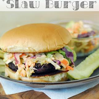 Grilled Slaw Burger