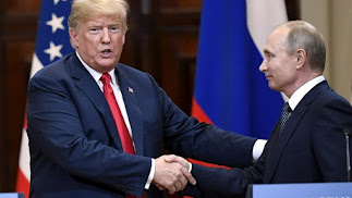 Trump saluda a Putin