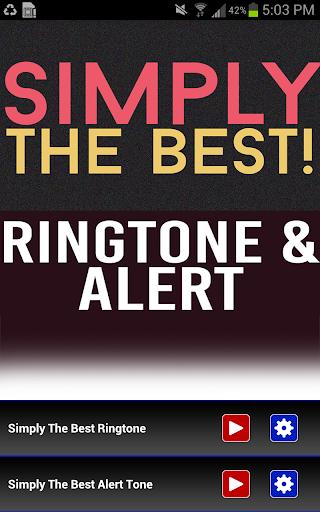 Simply The Best Ringtone
