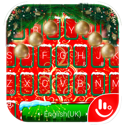 Happy Christmas Day Keyboard Theme