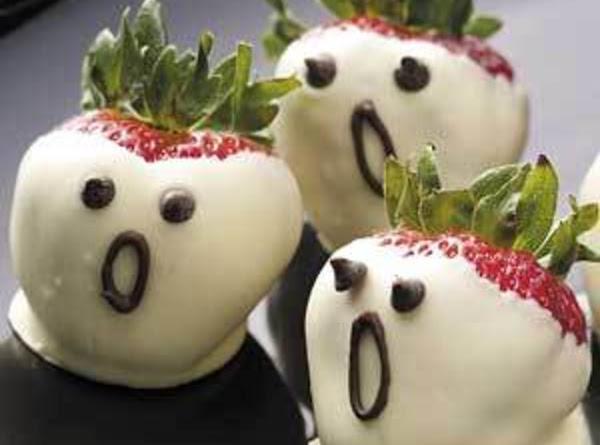 Strawberry Ghosts____bebita Recipe