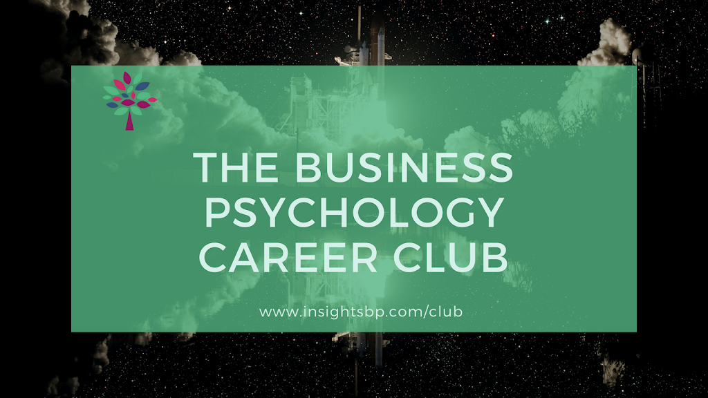 Business Psychology Career Club
