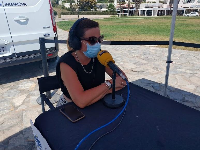 "La responsable de Marketing de hoteles ""Playa Senator"", Marta Galdós."