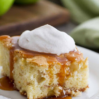Apple Cinnamon Cake with Cinnamon Whipped Cream Recipe