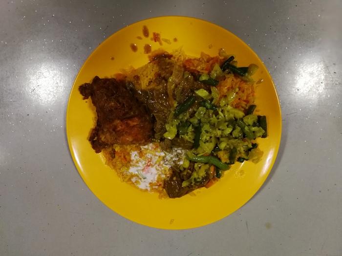 Makan nasi Kandar Penang