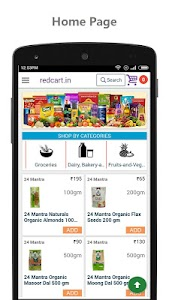 redcart - Grocery Shopping App screenshot 0