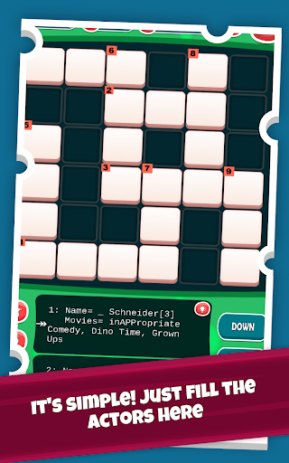 Actors Crossword Puzzle Game, Guess Hollywood Name  screenshots 18