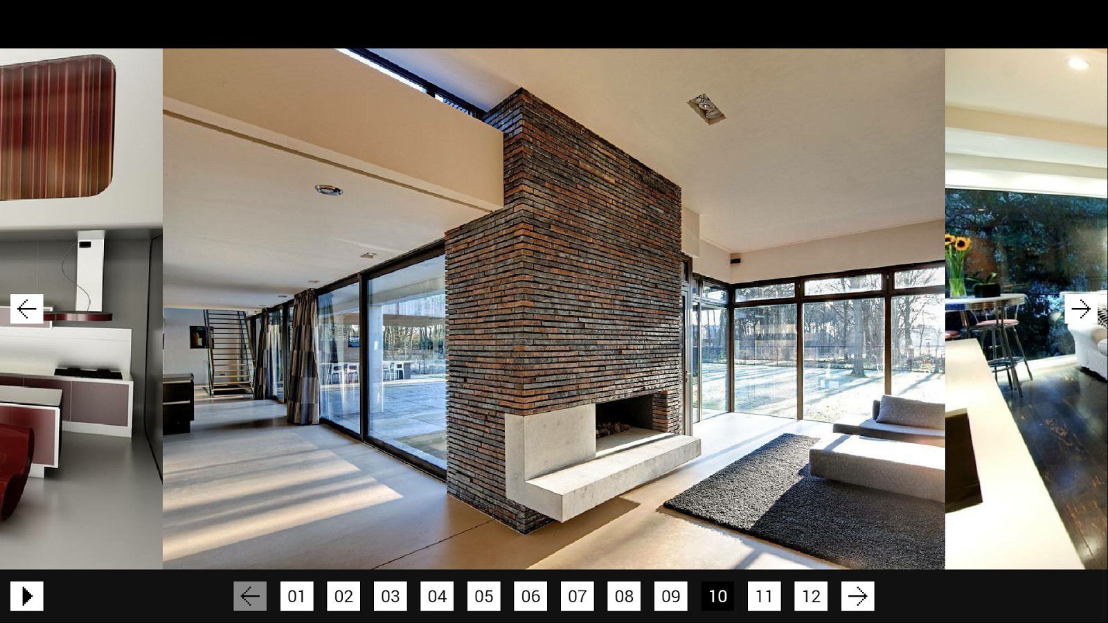 Interior design of home pictures - Home Interior Design Screenshot