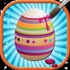 Huevo de Pascua pintura niños icon
