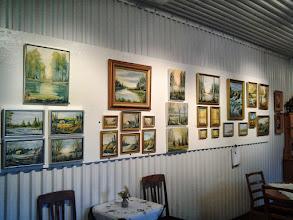 Photo: Curt Augustsson konst utställning