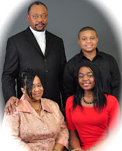 Photo: First family of RACC - (clockwise from top left) Sr. Pastor Anthony, Anthony Andre II, Cianna, Pastor Lisa.