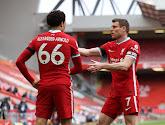 Liverpool mag dankzij Alexander-Arnold blijven hopen op de Champions League