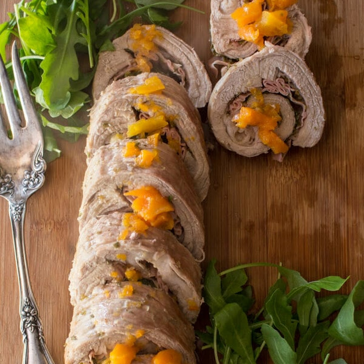 Rollè Italian Stuffed Flank Steak Recipe
