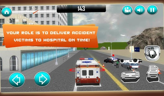 Ambulance Fire & Rescue 911 3D- screenshot thumbnail