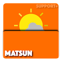 MATSUN weather komponent icon