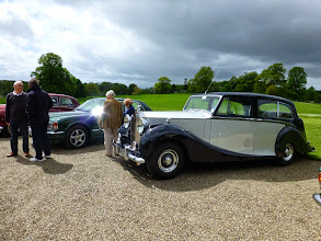 Photo: Our arrival at Berrington Hall