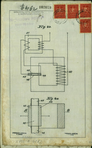 "The patent application of the ""refrigerator"" entitled by Albert Einstein and Leó Szilárd pg. 22."