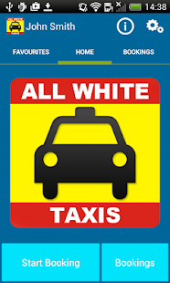 All White Taxis - 01704 537777- screenshot thumbnail