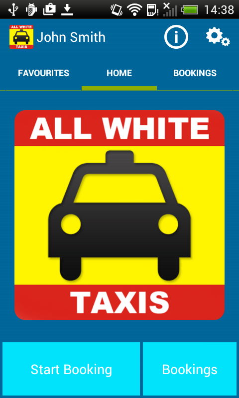 All White Taxis - 01704 537777- screenshot