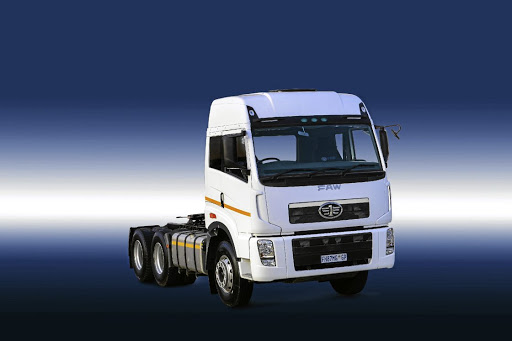 The latest 33.420FT truck range offers a more modern design.    Picture: FAW SA