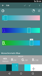 Must Color Palette Generator - náhled