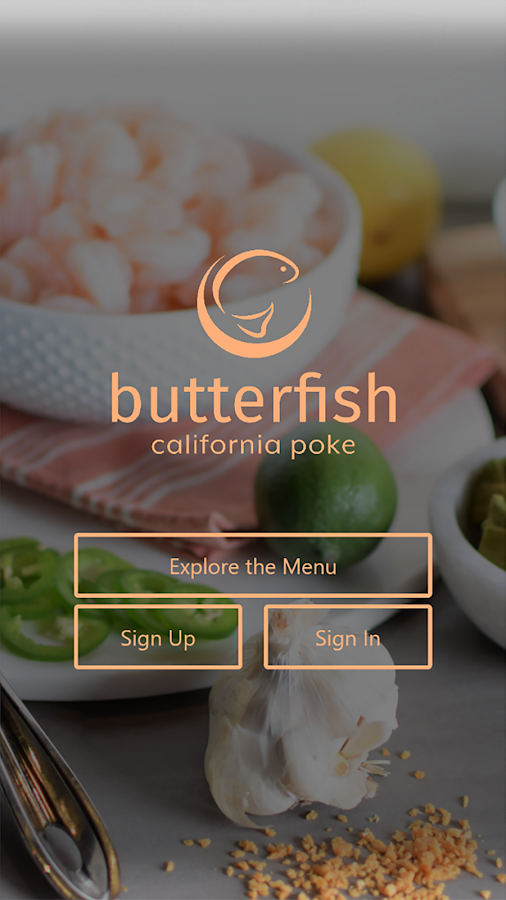Butterfish Poke- screenshot