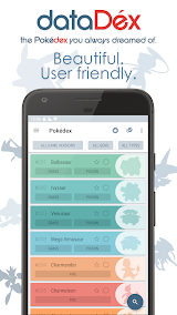 dataDex - Pokédex for Pokémon Apk Download Free for PC, smart TV