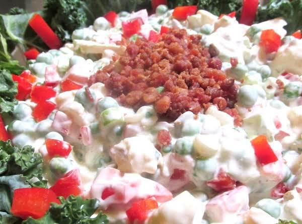 Hidden Valley Ranch  Crunchy Peas & Pepper Salad Recipe